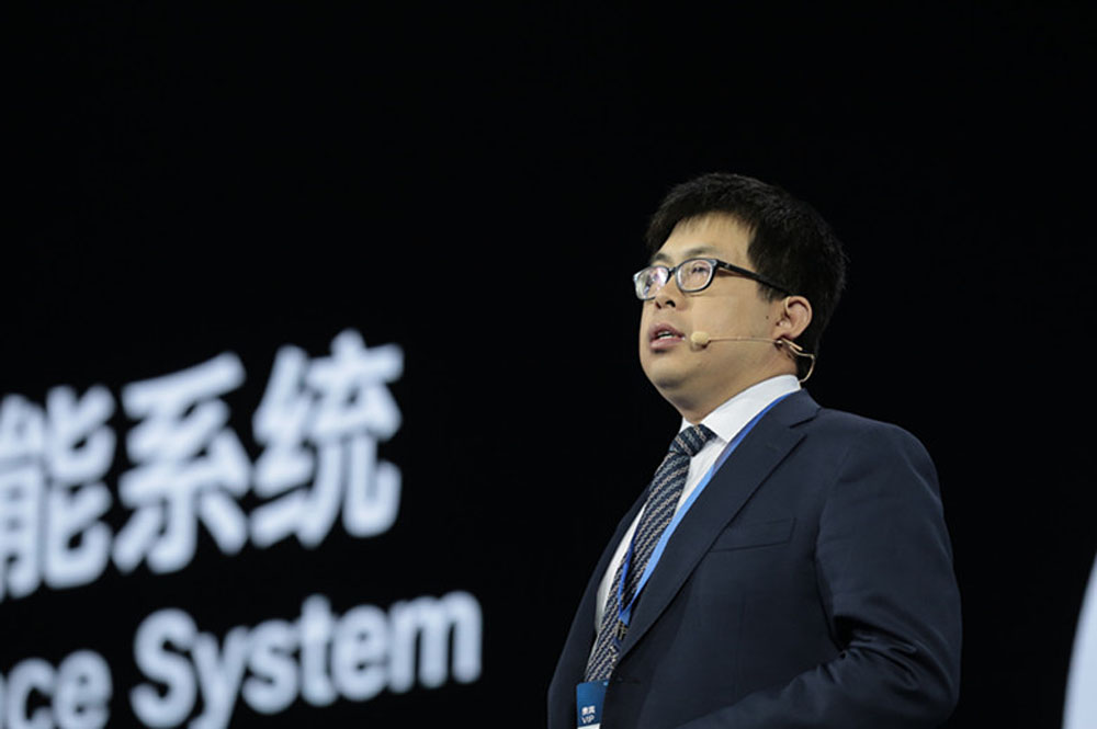 Liu Lizhu, general manager of Huawei Enterprise Network Product Line's Security Gateway Domain