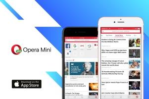 AI news engine lands on Opera Mini for iPhone