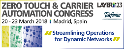 Zero Touch & Carrier Automation Congress
