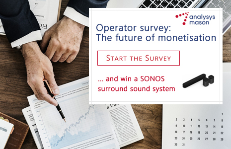 Operator survey: The future of monetisation Conducted by Analysys Mason