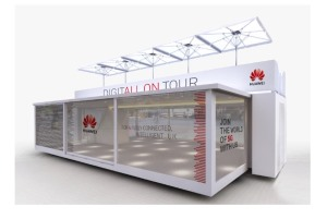 Huawei sends 5G UK Experience demo truck and exhibition on tour