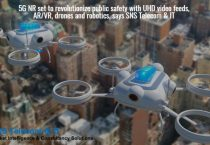 5G NR set to revolutionise public safety with UHD video feeds, AR/VR, drones and robotics, says SNS Telecom & IT