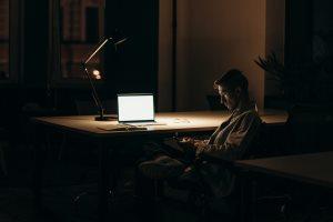 Virus lockdown creates a world of night owls