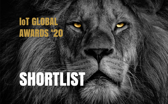 The shortlist nominees for the 2020 IoT Global Awards are…