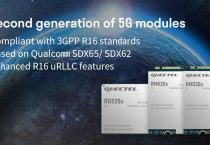 Quectel announces 2nd gen of 5G NR modules compliant with 3GPP R16 standard