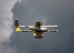 Alphabet again exits drones as others jump in