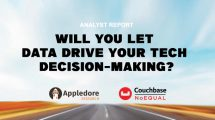 Analyst Report: Will you let data drive your tech decision-making?