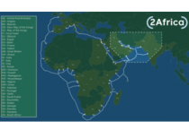 2Africa extended to the Arabian Gulf, India, and Pakistan